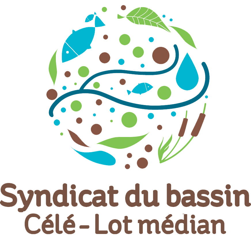 Logo du Syndicat mixte Célé - Lot médian